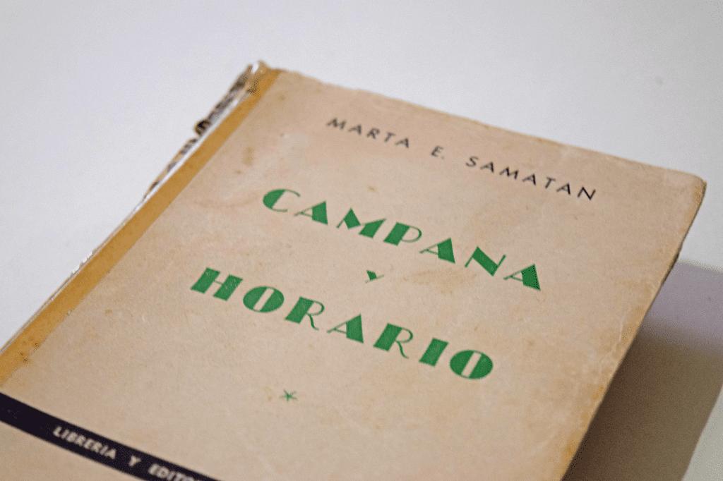Campana y horario - Marta Elena Samatan