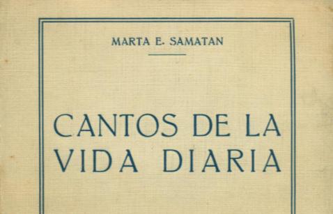 Cantos de la Vida Diaria - Marta Samatan