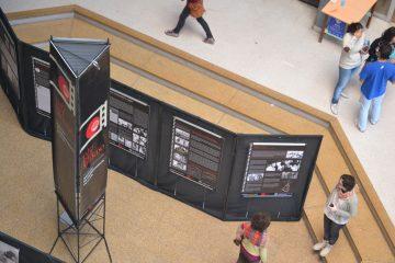 Ojo del mundo en la Facultad de Arquitectura Diseño y Urbanismo UNL