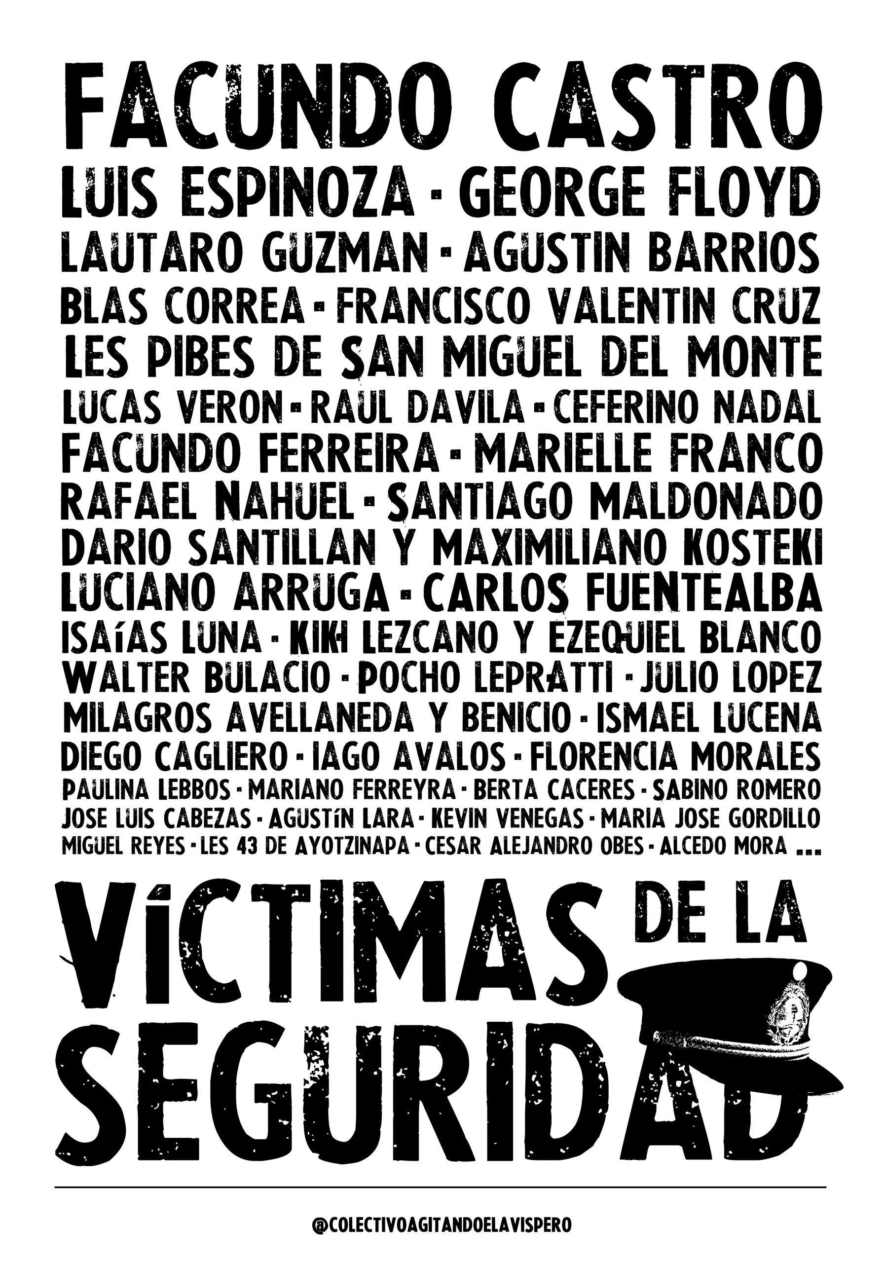 Copia de victimas de la seguridad - agitando el avispero - Joha Berrondo